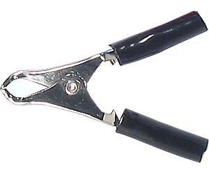 Svorka 10A černá l=50mm