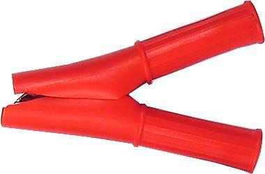 Svorka 50A červená izolovaná l=88mm