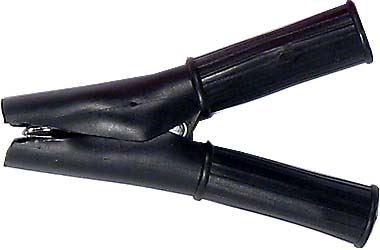 Svorka 50A černá izolovaná l=88mm