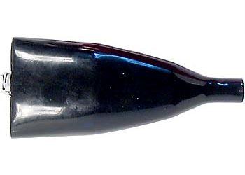Svorka 50A černá izolovaná l=110mm+izolace