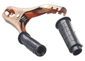 Svorka 400A černá l=160mm