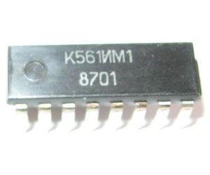 K561IM1 /CD4008/ 4-bit.čítač