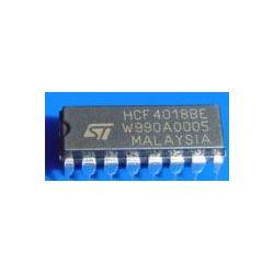 4018 - 4.bit přednastavitelný čítač, DIL16, /HCF4018BE/