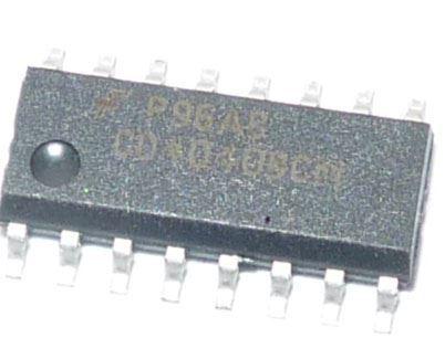 4040 SMD 12stupňový dvojkový čítač /CD4040SMD/