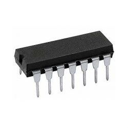 4066 - 4x analogový spínač, DIL14 /MHB4066,MC14066/