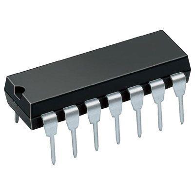4069 - 6x invertor, DIL14 /CD4069/