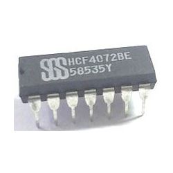 4072 - 4x 2vstup. OR, DIL14 /HEF4072BE/
