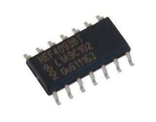 4093 SMD 4x 2vstup.NAND Schmitt, 14p