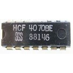 4070 - 4x EXCLUSIVE OR, DIL14 /HCF4070/
