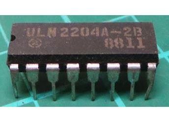 ULN2204A - přijímač AM/FM, DIL16 /A283D, TDA1083, KA22427/
