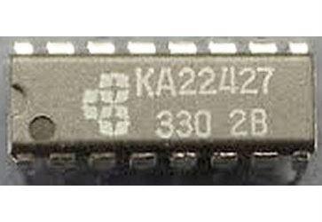 KA22427 - přijímač AM/FM, DIL16 /A283D, TDA1083, ULN2204/
