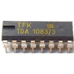 TDA1083 TFK - přijímač AM/FM, DIL16 /A283D, ULN2204/