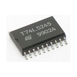 74LS245 SMD 8xBUS transceiver, SOC20