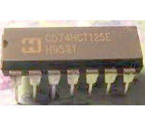 74HCT125 - 4x budič sběrnice, DIP14 /74125/