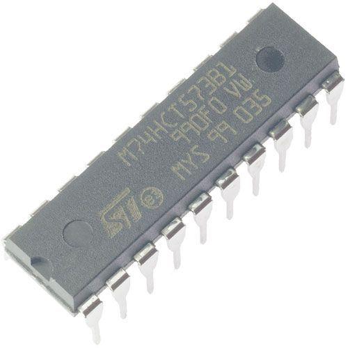 74HCT573 - 8x D-type transparent latch, DIL20