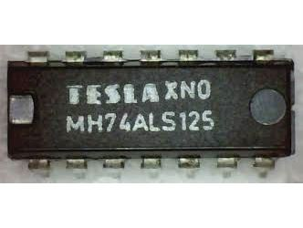 74ALS125, DIL14 /MH74ALS125,54ALS125/ 74125