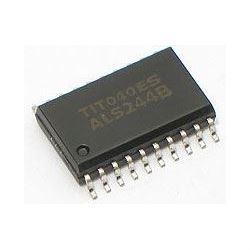 74ALS244 8-bit, budič, SMD