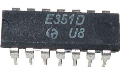 E351D-dělič kmitočtu TTL, DIL14
