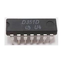 D351D-dělič kmitočtu TTL, DIL14