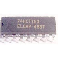 74HCT153 2x 4 vstup. multiplexer, DIP16 /74153/