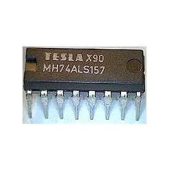 74ALS157 4x 2vstup. multiplexer, DIL16 /74157/
