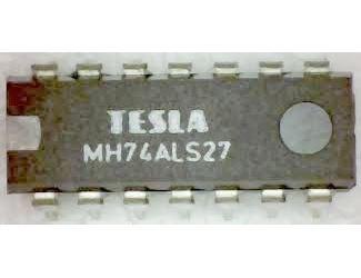 74ALS27 3x3 vstup NOR, DIL14 /MH74ALS27/ 7427