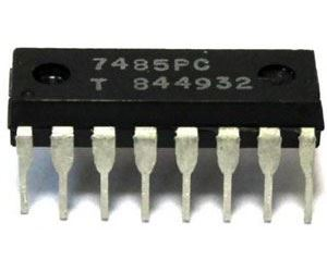 7485 - 4-bit komparátor, DIL16 /7485PC/