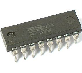 74155 - multiplexer, DIP16 /SN74155N/