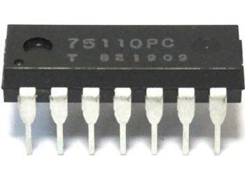 75110 - zdvojený tvarovač signálů, DIP14 /75110PC,UCY75110/
