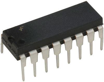 74LS145 převodník BCD na 1 z 10, DIL16 /74145/
