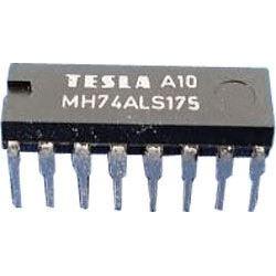 74ALS175 Quad D flip-flop, DIL16 /MH74ALS175/ 74175