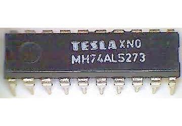 74ALS273 8x klopný obvod D s nulováním, DIL20 /MH74ALS273/ 74273