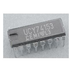 74153 - 2x 4vstup. multiplexer, DIL16 /UCY74153/