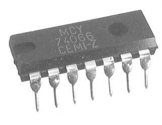 4066 - 4x analog.spínač, DIL14 /MCY74066/