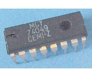 4049 6x budič invertující, DIL14 /MCY74049/