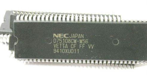 D75108CW - MCU NEC, SDIP64 /UPD75108CW/