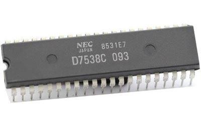 D7538C - MCU NEC, DIP40 /UPD7538C/