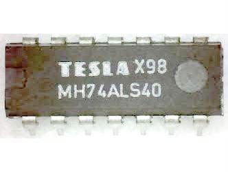 74ALS40 2x 4vstup. NAND, DIL14 /MH74ALS40/ 7440