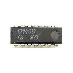 D140D 2x 4vstup. NAND, DIL14 /7440, MH8440/