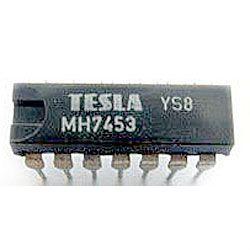 7453 rozšířitelný člen AND-OR-INVERT, DIL14 /MH7453,MH5453S/