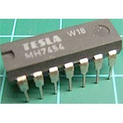 7454 pozitivní člen AND-OR-INVERT, DIL14 /MH7454,MH5454S/