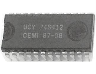 74S412 - střádač 8.bit DIL24 /UCY74S412=MH3212/