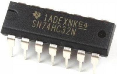 74HC32 - 4x 2vst.hradlo OR, DIL14