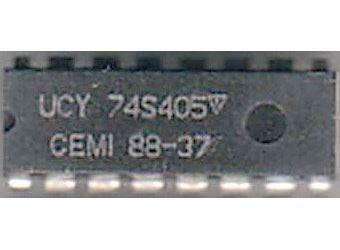 74S405 - binární dekodér 1 z 8, DIP16 /UCY74S405/