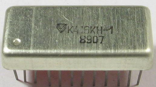 K416KN-1, přepínač kanálů do TV