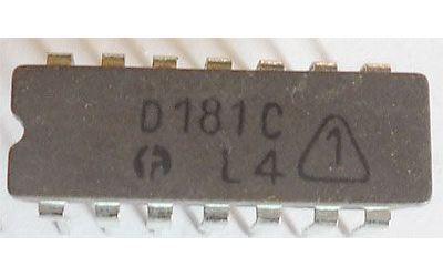 D181C - RAM 16bit, DIL14 /SN7481N/