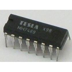 7489 - RAM 64bit, DIL16 /MH7489/