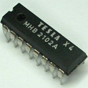 MHB2102A - MNOS RAM 1024bit, DIP16