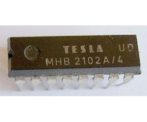 MHB2102A/4 - MNOS RAM 1024bit, DIP16