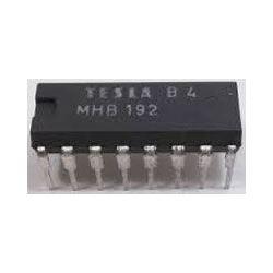 MHB192 - dekodér+budič displeje, DIL16